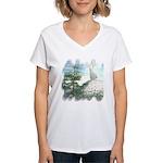 Angel Watch Women's V-Neck T-Shirt