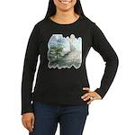 Angel Watch Women's Long Sleeve Dark T-Shirt