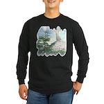 Angel Watch Long Sleeve Dark T-Shirt