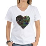 I Love Christmas Women's V-Neck T-Shirt
