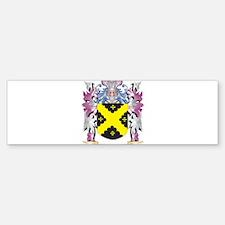 Caldecott Coat of Arms (Family Cres Bumper Bumper Bumper Sticker