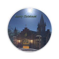 Midnight Services Ornament (Round)