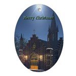 Midnight Services Oval Ornament