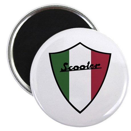 "Scooter Shield 2.25"" Magnet (100 pack)"