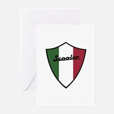 Scooter Shield Greeting Cards (Pk of 10)