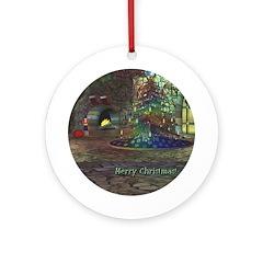 I Love Christmas Ornament (Round)