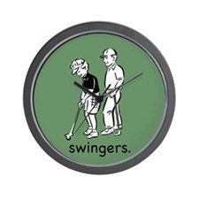 Swingers Wall Clock
