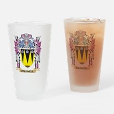 Caldwell Coat of Arms (Family Crest Drinking Glass