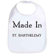 Made In St. Barthelemy Bib