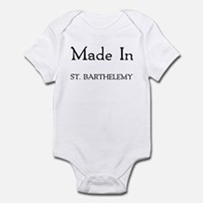 Made In St. Barthelemy Infant Bodysuit