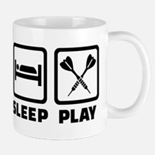 Eat Sleep Play Darts Mug
