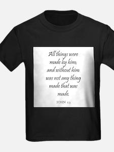 JOHN 1:3 T-Shirt