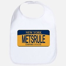 MetsRule Ny License Plate Bib