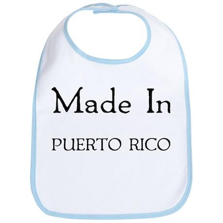 Made In Puerto Rico Bib