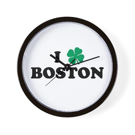Boston Clover Wall Clock