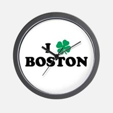 Boston Clover Wall Clock