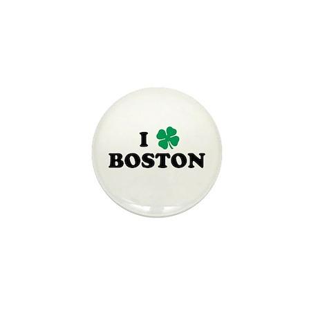 Boston Clover Mini Button (10 pack)