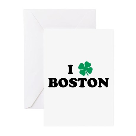 Boston Clover Greeting Cards (Pk of 10)