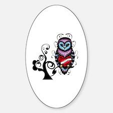 Cute Owl illustration Decal