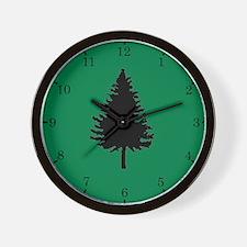 Oregon Douglas-fir Wall Clock