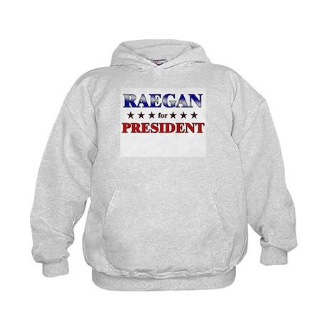 RAEGAN for president Kids Hoodie