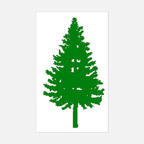 Oregon Douglas-fir Rectangle Decal