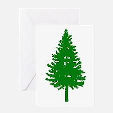 Oregon Douglas-fir Greeting Card