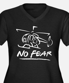 No Fear Heli Plus Size T-Shirt