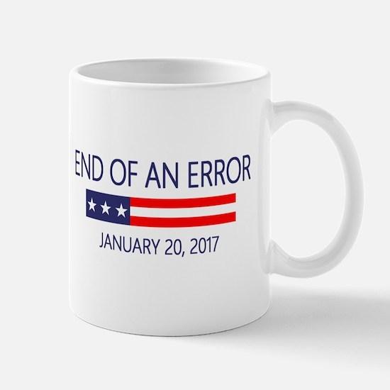 End of an Error Mugs