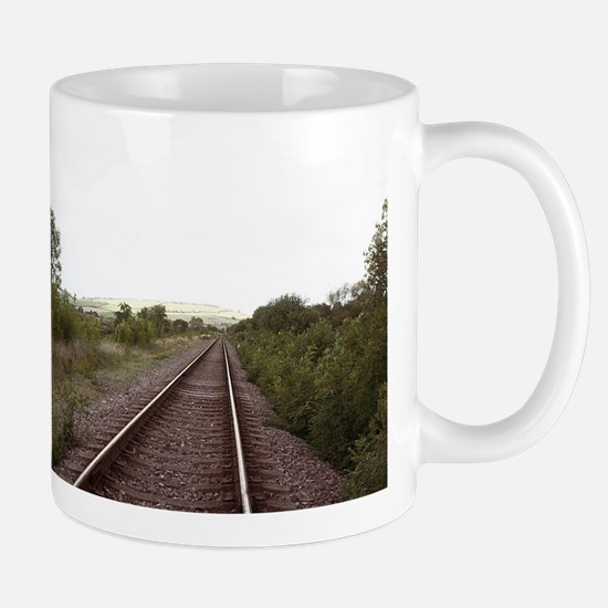 On the Right Track Mugs