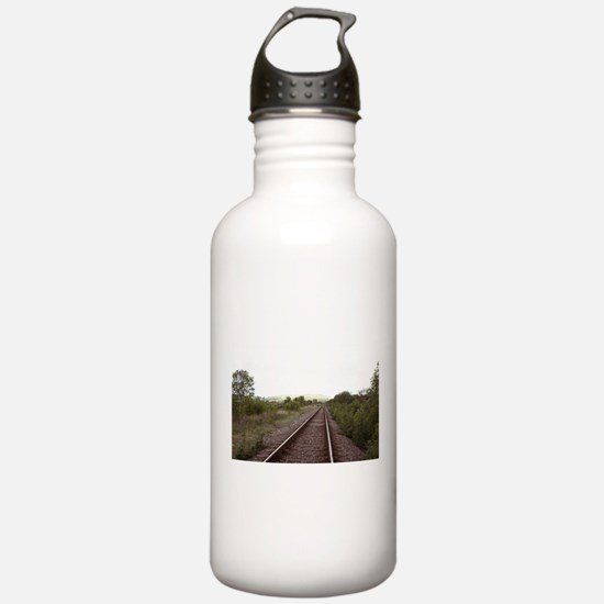 On the Right Track Water Bottle