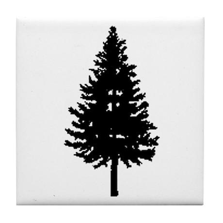 Oregon Douglas-fir Tile Coaster