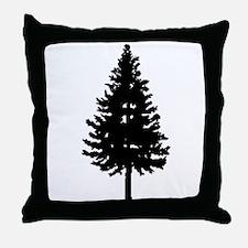 Oregon Douglas-fir Throw Pillow