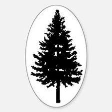 Oregon Douglas-fir Oval Decal