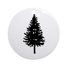 Oregon Douglas-fir Ornament (Round)