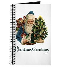 Christmas Greetings Santa Journal