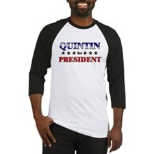 QUINTIN for president Baseball Jersey