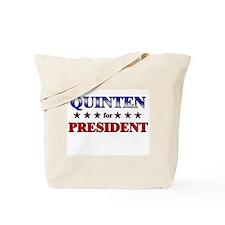 QUINTEN for president Tote Bag