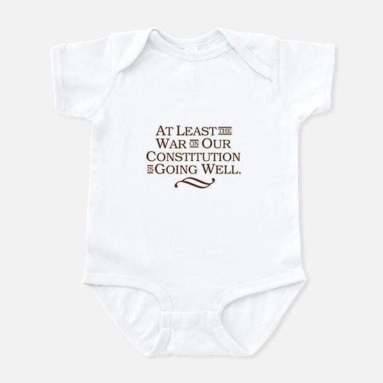 War on Constitution Infant Bodysuit
