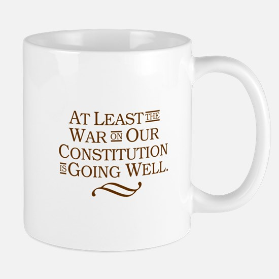 War on Constitution Mug