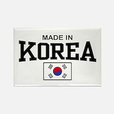 Made In Korea Rectangle Magnet