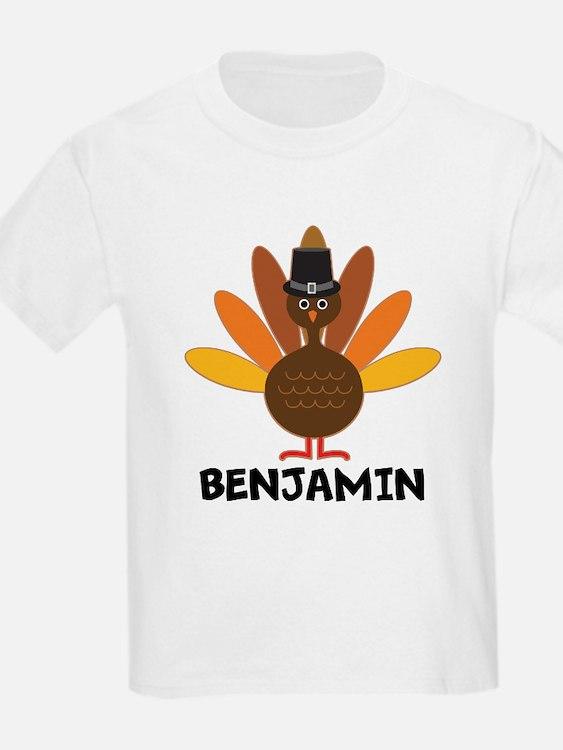 Thanksgiving Personalized Turkey T-Shirt