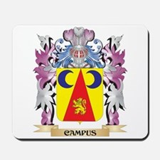 Campus Coat of Arms (Family Crest) Mousepad