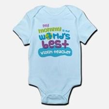 Violin Teacher Gift for Kids Infant Bodysuit