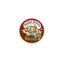 Buster Brown Shoes #1 Mini Button (10 pack)
