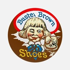 Buster Brown Shoes #1 Ornament (Round)