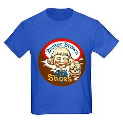 Buster Brown Shoes #1 Kids Dark T-Shirt