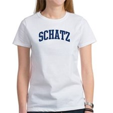 SCHATZ design (blue) Tee