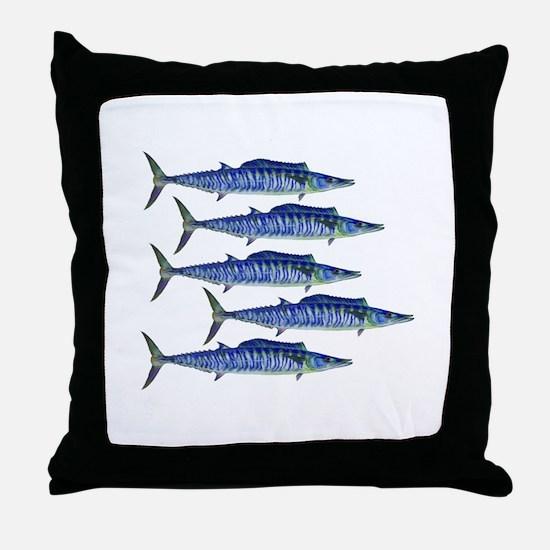 WAHOO Throw Pillow