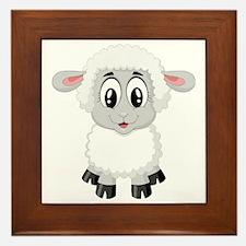 Cute Cute sheep Framed Tile